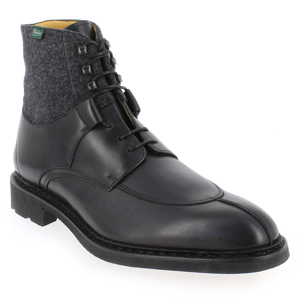 Paraboot Beaumont Black -Grey