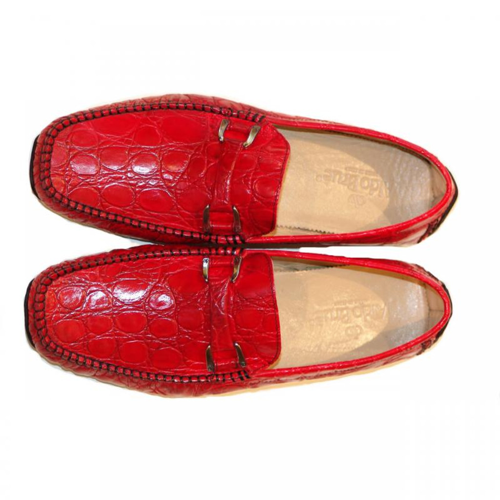 Aldo Brue Andrea Croc Red/Black