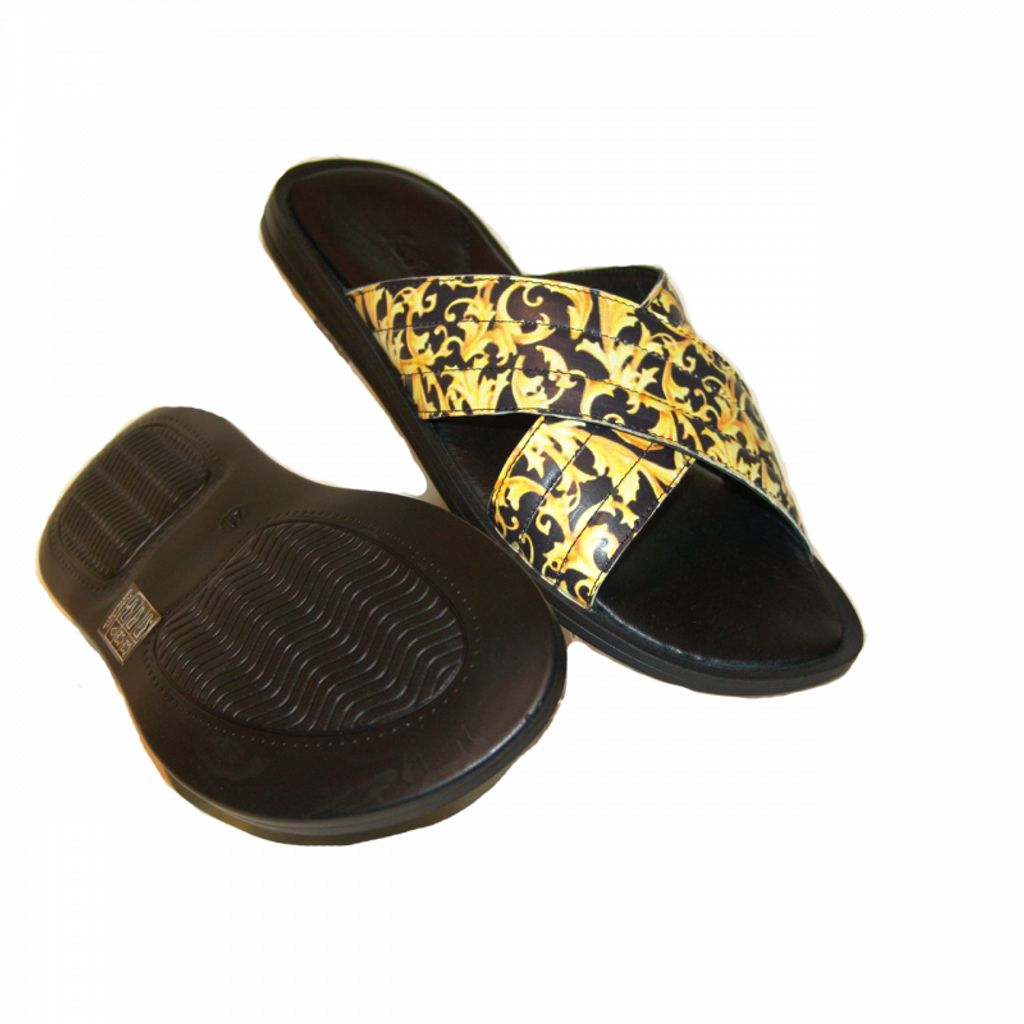 fertini F01 Sandal Multi/Gold