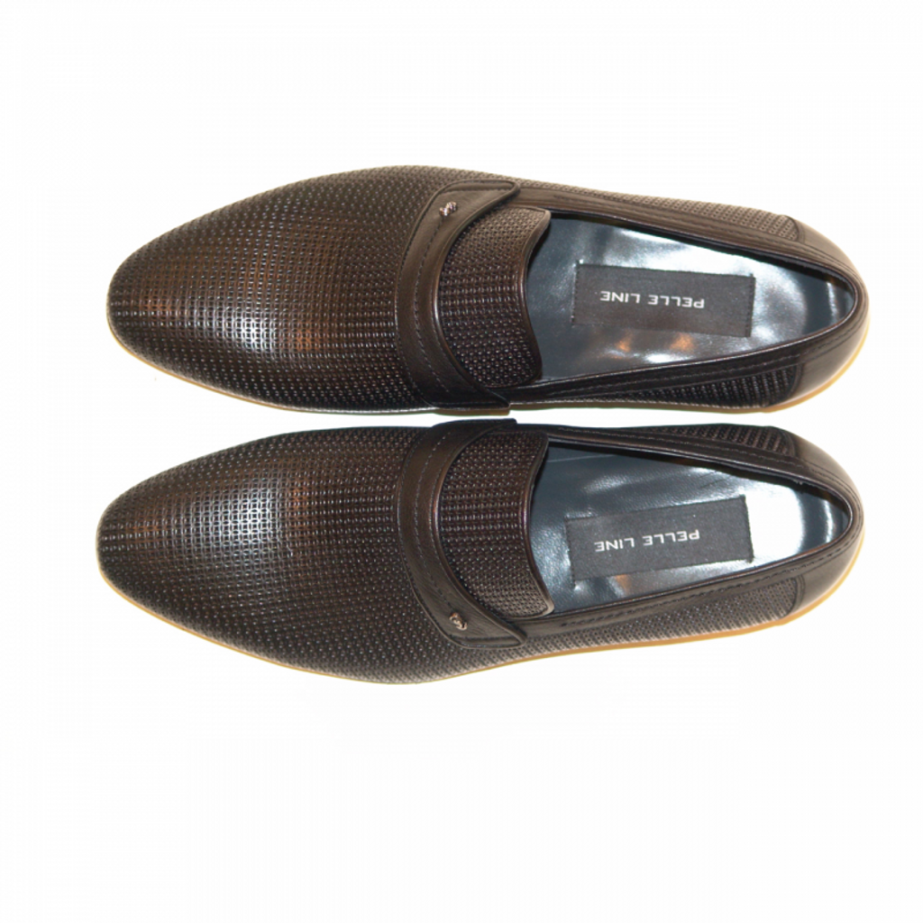 Pelle Line Exclusive 3860 Perforated Loafer Black