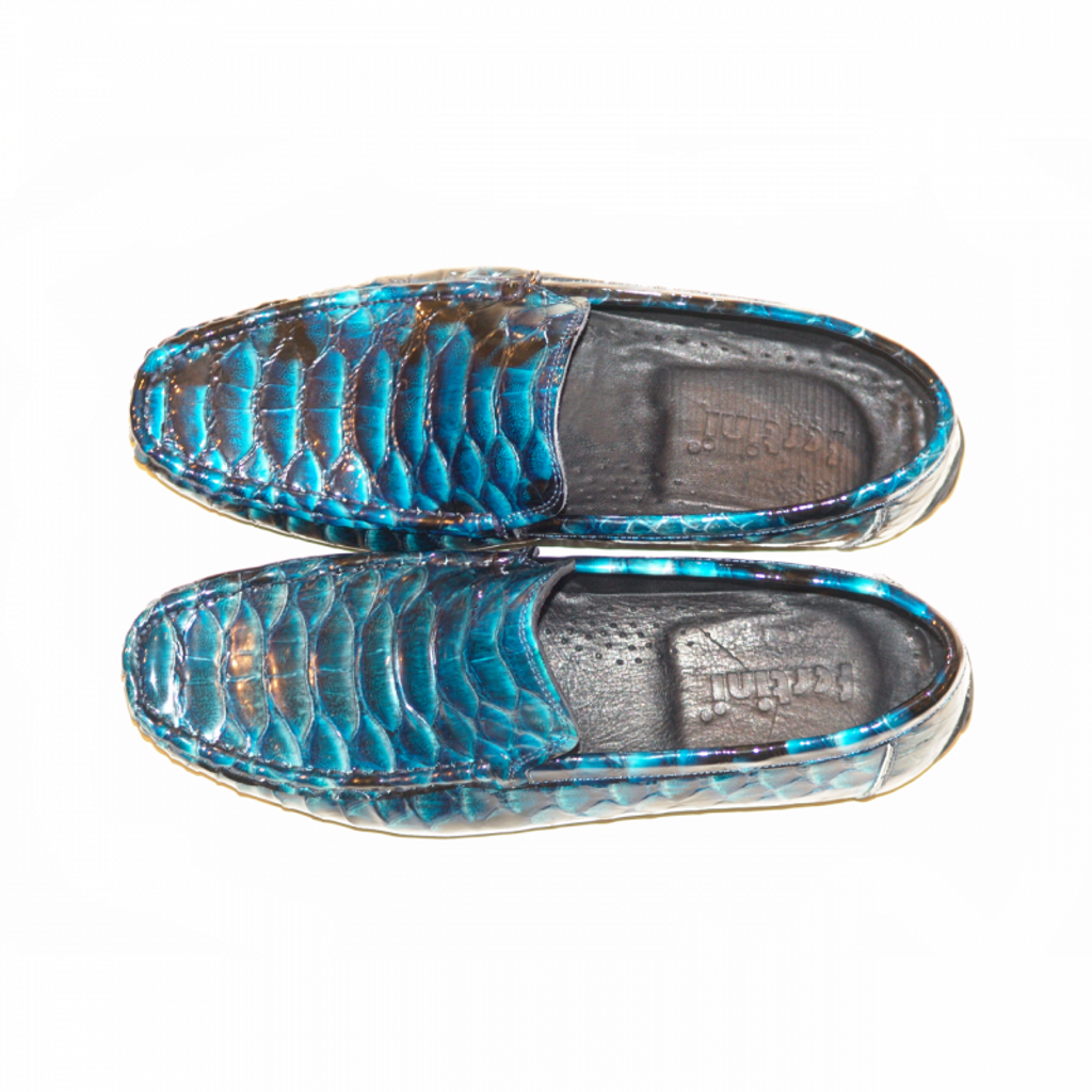 Pelle Line Exclusive 650 slip on Blue