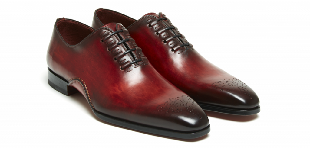 Magnanni Exclusive  Josue 7970 Lace up Red
