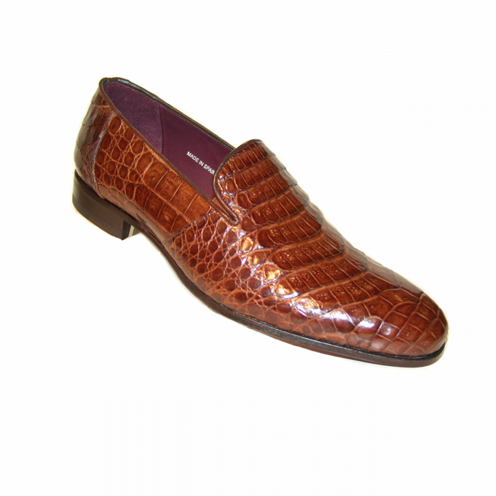 Pelle Line Exclusive Mezlan Calvino Alligator Plain Loafer Sport