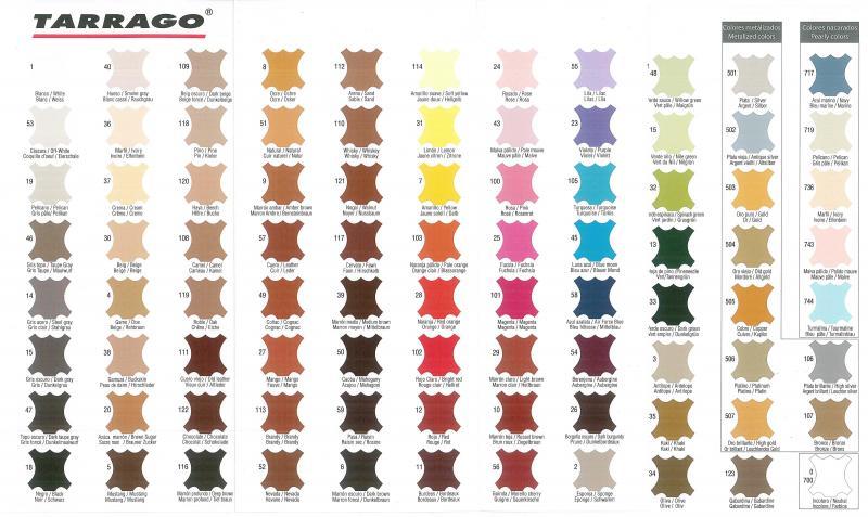 Tarrago Nubuck Color