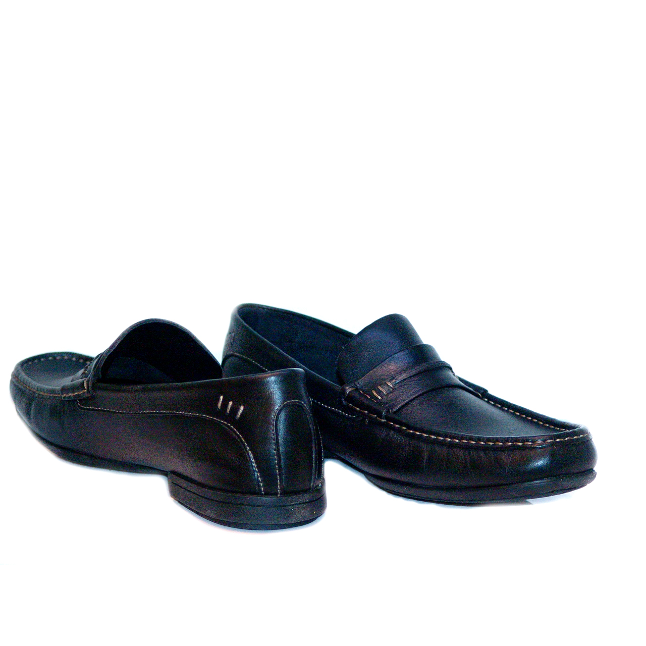 Paraboot Barjact (91512) Waxy Leather Loafer Black
