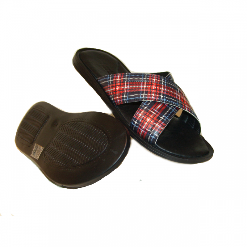fertini F01 Sandal Red Pattern