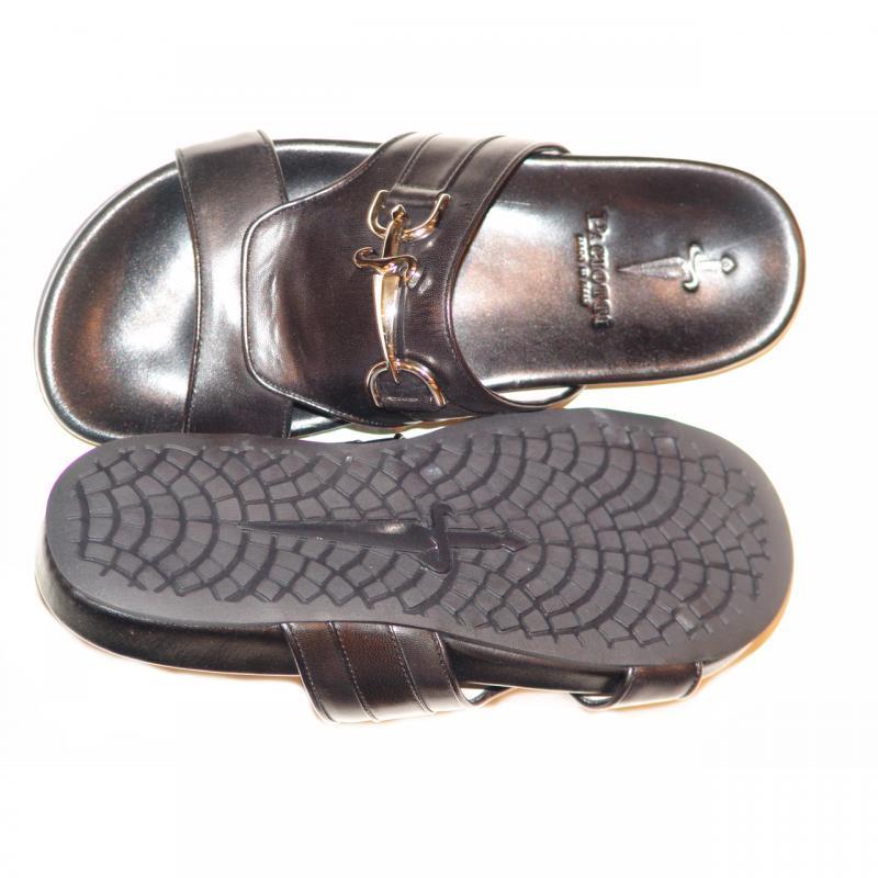 Cesare Paciotti 25221 Open Toe Sandal Black