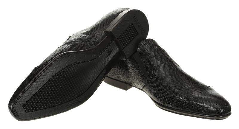 Cesare Paciotti 48309 Iguana Monk Strap Black