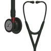 Littmann Cardiology IV Stethoscope, Black Red, 6200