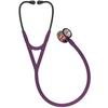 Littmann Cardiology IV Stethoscope, Rainbow Plum Black, 6205