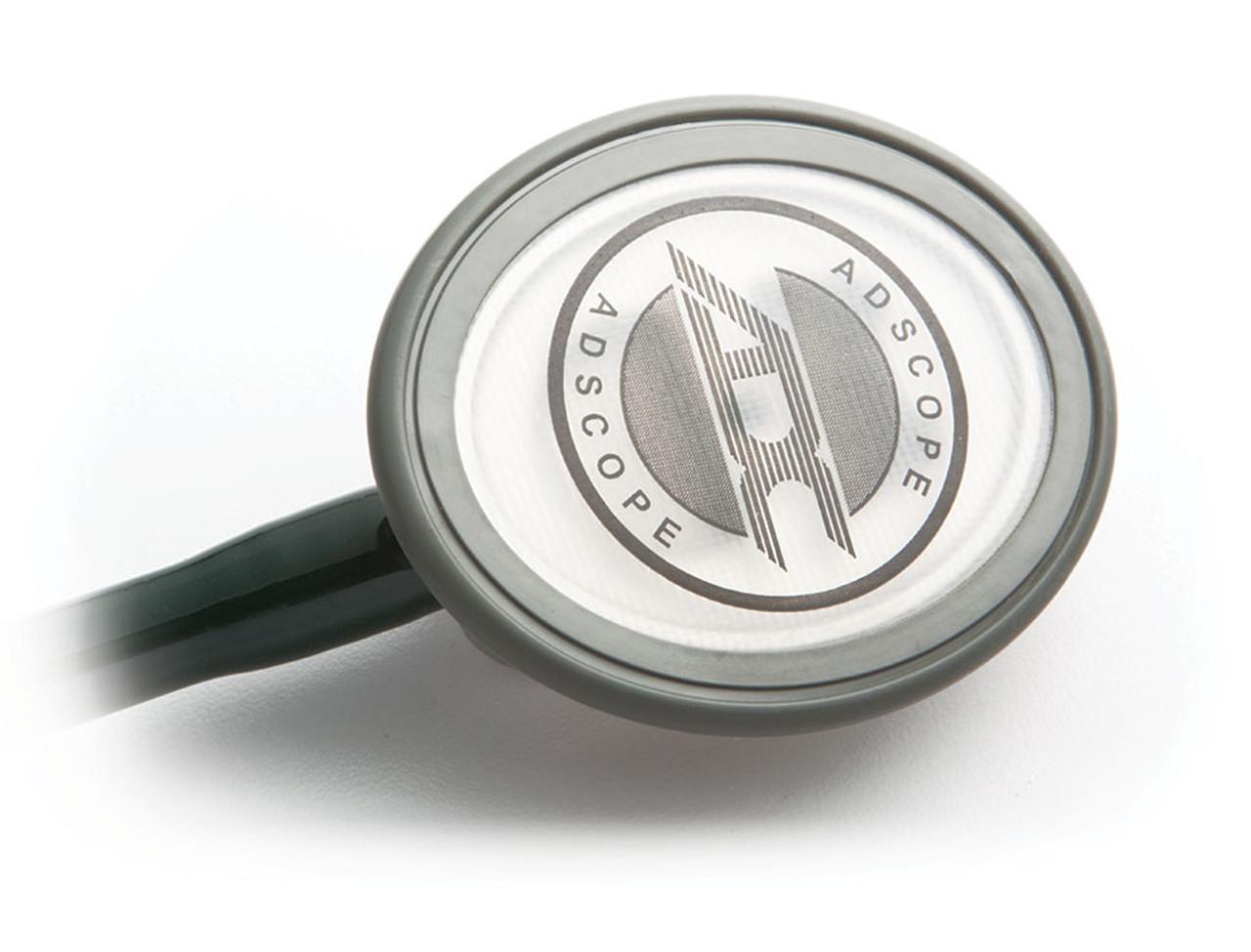 ADC 600 Single Head Advanced Diagnostic Stethoscope, Black, 600BK