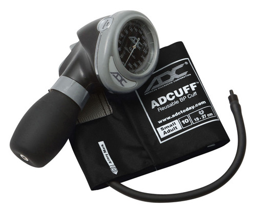 ADC 703 Diagnostix Aneroid Sphygmomanometer, Small Adult Cuff, 703-10SABK