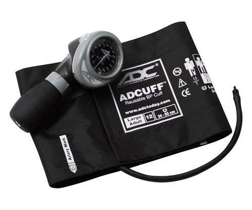ADC 703 Diagnostix Aneroid Sphygmomanometer, Large Adult Cuff, 703-12XBX