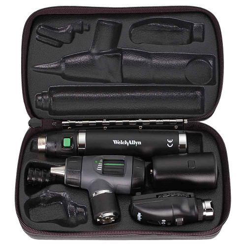 Welch Allyn 97200-MSL 3.5v Diagnostic Set Smart Handle with LED Lamps