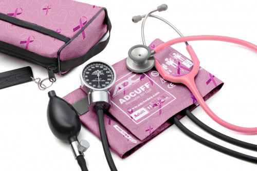 ADC Pro's Combo III Pocket Aneroid Kit, Breast Cancer Awareness, 11ABCA