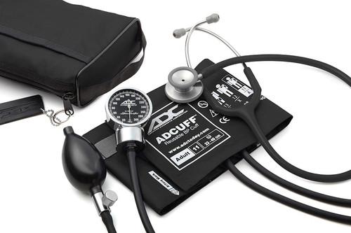 ADC Pro's Combo III Pocket Aneroid Kit, Black, 11ABK