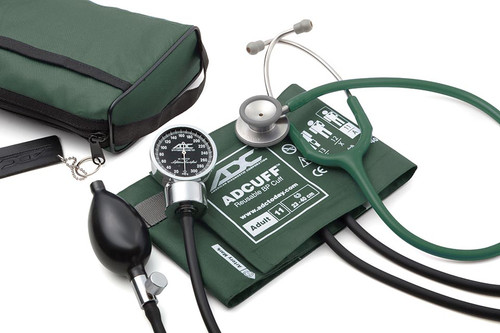 ADC Pro's Combo III Pocket Aneroid Kit, Dark Green, 11ADG