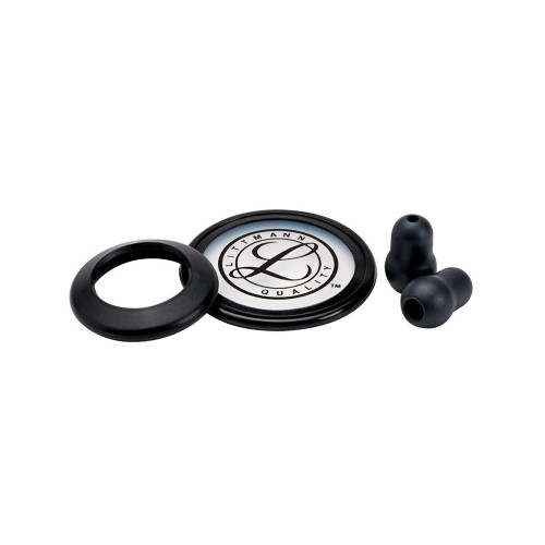 3M Littmann Stethoscope Spare Parts Kit, Classic II SE, Black, 40005