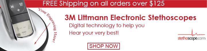 Buy Littmann electronic stethoscopes online at Stethoscope.com