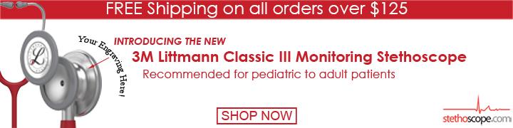 Buy Littmann Classic III online at Stethoscope.com