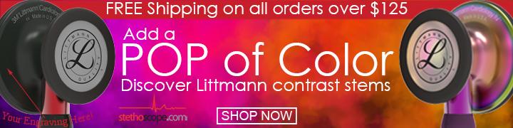 POP of Color: Discover Littmann Contrast Stems