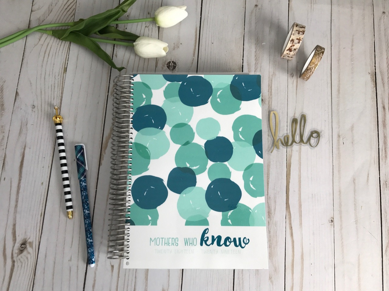 Academic Planner (2018-2019) for Mormon Moms | intheleafytreetops.com