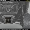 Can Am Maverick X3 Rear Radius Rod Plate Heavy Duty