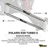 Polaris RZR XP1000 Turbo S Radius Rods Chromoly Heavy Duty 2018