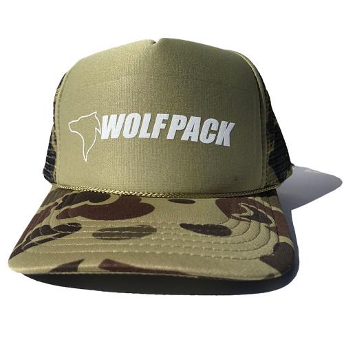 UTV Wolfpack Camo Hat Brown Snapback