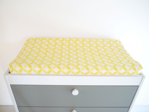 Tops Organic Changing Pad Cover - Yellow