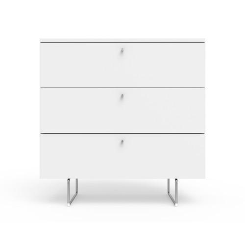 """Alto 34"""" wide dresser in white"""