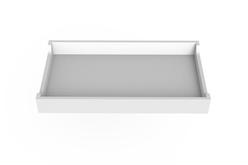 White Changing Tray