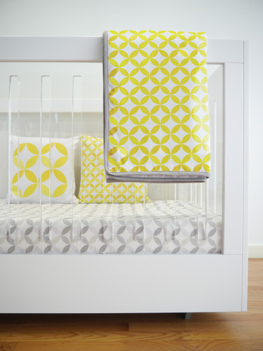 Tops Organic Quilt - Yellow