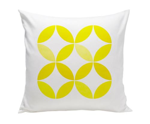 Big Tops Pillow - Yellow