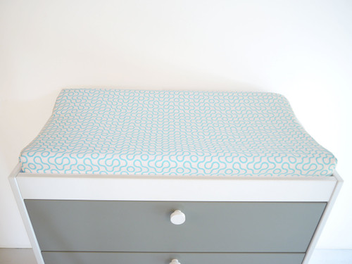 Join Organic Changing Pad Cover - Blue