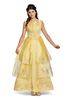 Ladies Movie Belle Ball Gown Deluxe Costume
