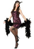 20s Flapper Tear-Drop Dress Costume