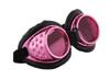 Hot Pink & Black Radioactive Goggles