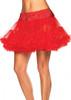 Red Tulle Plus Size Petticoat