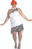 Wilma Flintstone Plus Size Ladies Halloween Costume