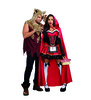 Ladies Little Red Riding Hood Costume Couples with Big Bad Wof