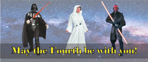 May the Fourth be with you until Revenge of the Sixth!