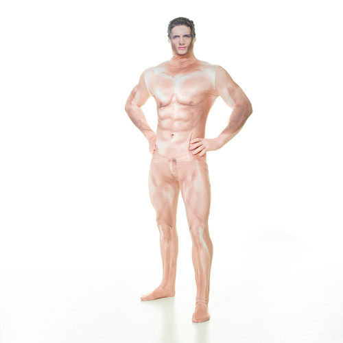 Picture of a naked man