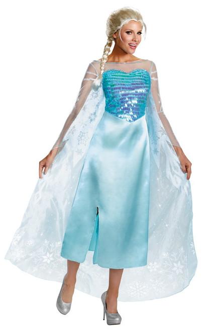 Deluxe Adult Elsa Frozen Costume