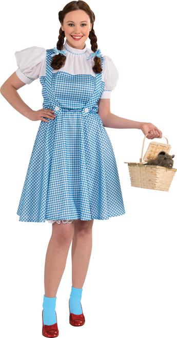 Ladies Dorothy Wizard of Oz Plus Costume