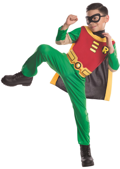 Teen Titans Go Robin Kids Costume - The Costume Shoppe-1464