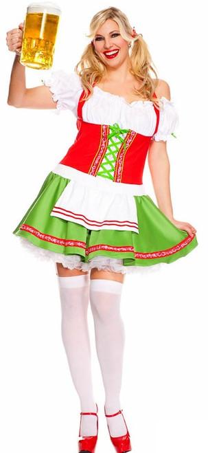 Oktoberfest Darling Ladies Plus Costume
