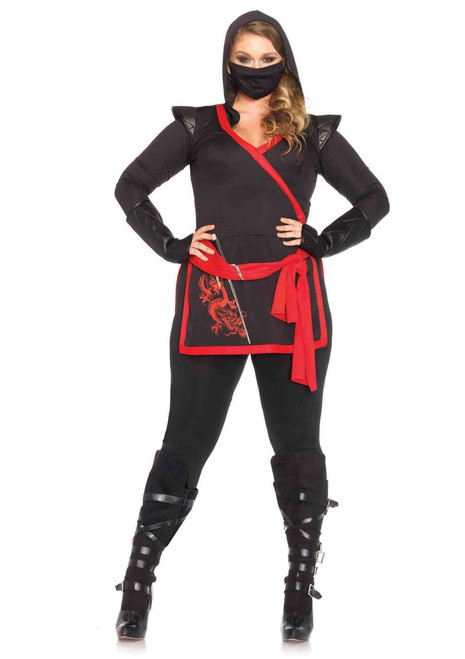 Ninja Assassin Women's Plus-Size Costume