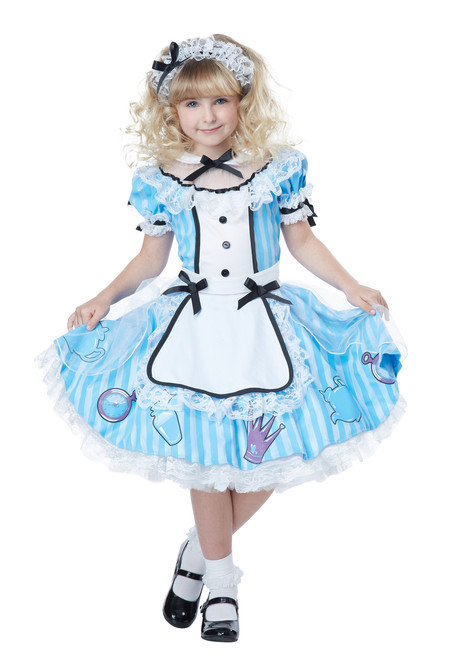 Alice In Wonderland Children's Costume