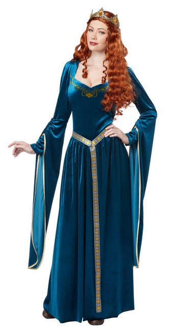 Medieval Lady Guinevere Ladies Costume
